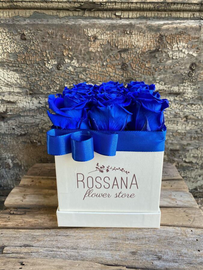 FLOWER BOX Q9 Rossana Collection BLU