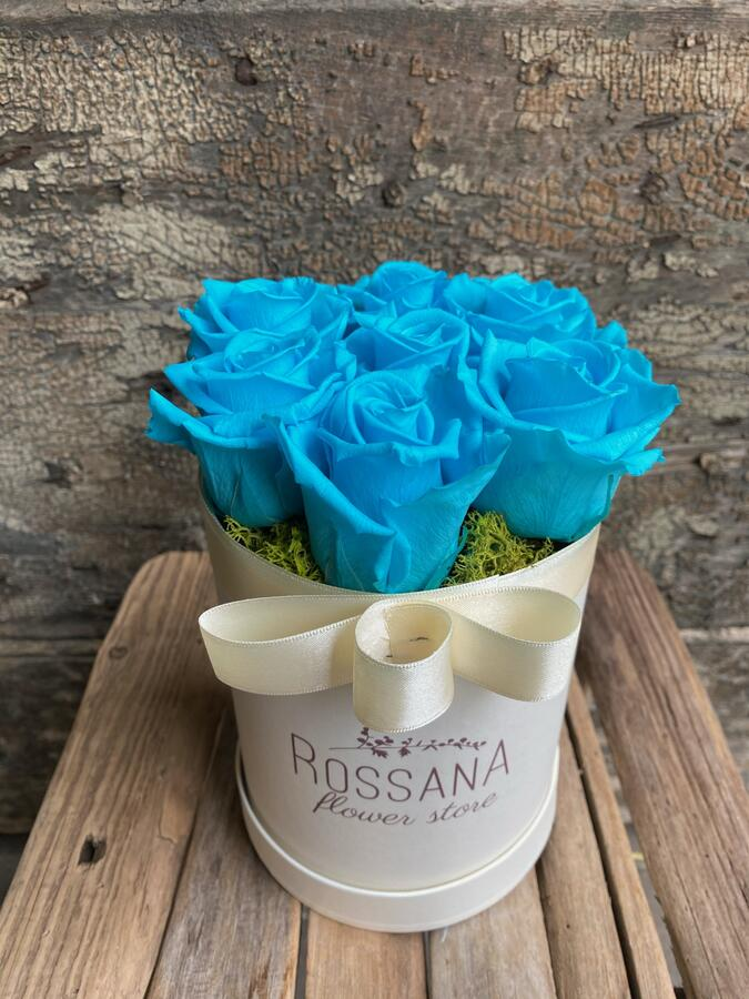FLOWER BOX T7 Rossana Collection TURCHESE