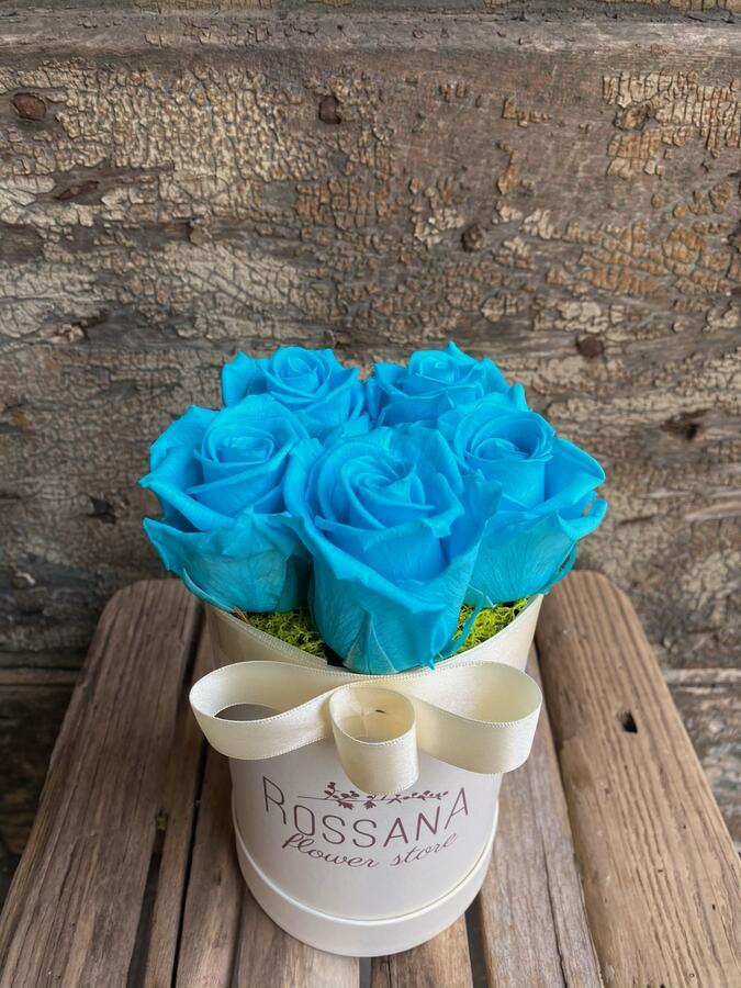 FLOWER BOX T5 Rossana Collection TURCHESE