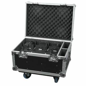 SHOWTEC EVENTLITE 4/10 Q4 SET Flightcase contenente 6 unità EventLITE