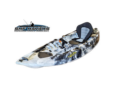 SKF Bluefish - Kayak da pesca 275 cm - completo accessori