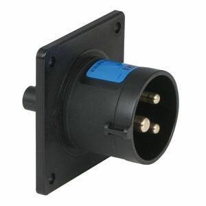 PCE CEE 16A 240V 3P SOCKET MALE Nero o Blu, IP44