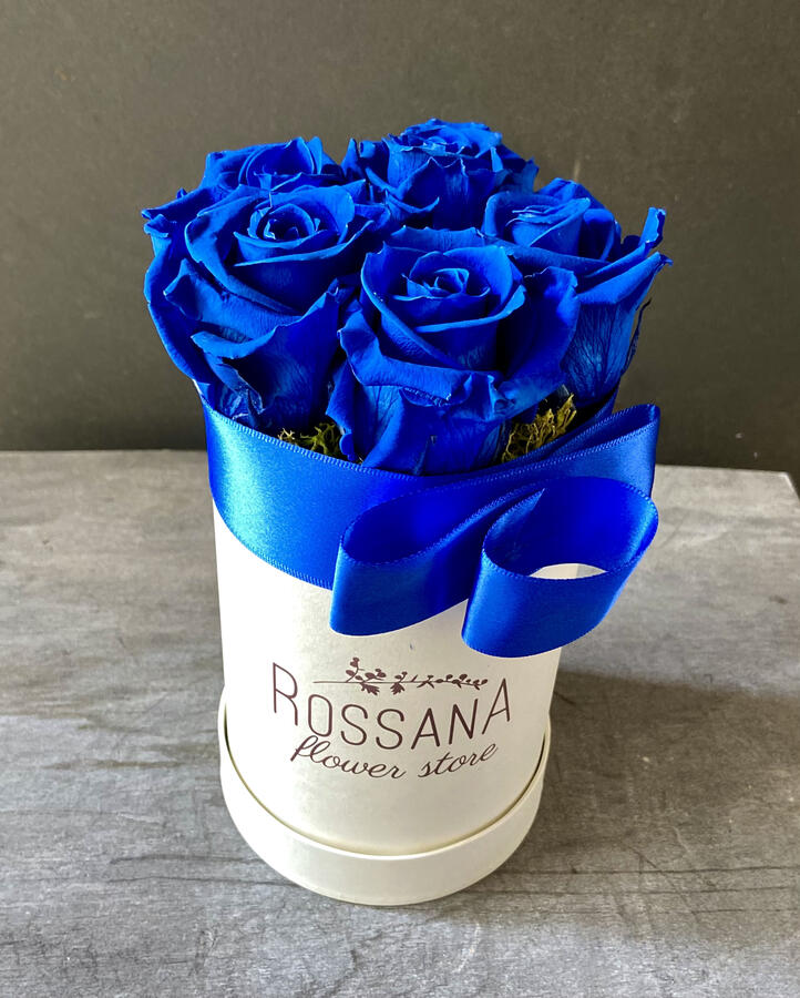 FLOWER BOX T5 Rossana Collection BLU