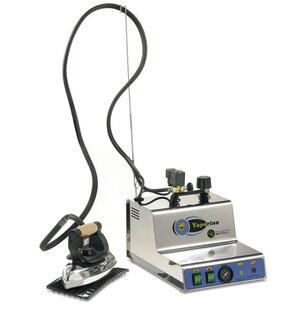 Ferro da stiro Professionale con Caldaia Vaporino Maxi INOX Battistella con manometro