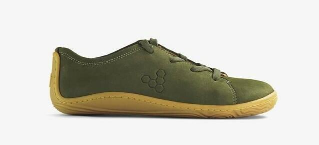 Vivobarefoot Addis Kids Botanical Green
