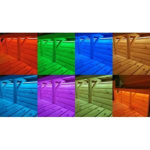 Illuminazione Led della sauna