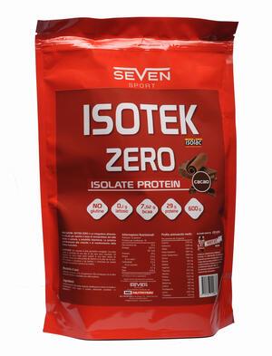 ISOTEK ZERO - Sieroproteine del latte isolate in polvere a solubilità istantanea - gusto cacao