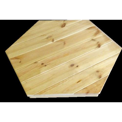 Copritavolo in legno di pino nordico - 6 angoli