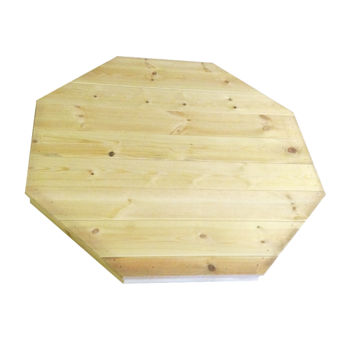 Copritavolo in legno di pino nordico - 8 angoli