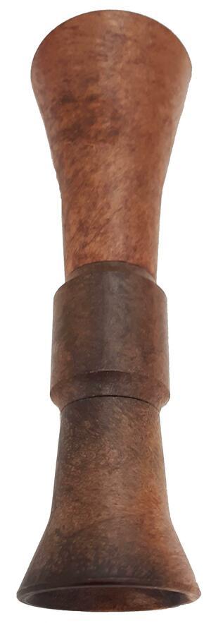 Richiamo folaga trombetta in plastica tipo legno