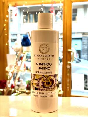 Shampoo normalizzante con luppolo passiflora e noce