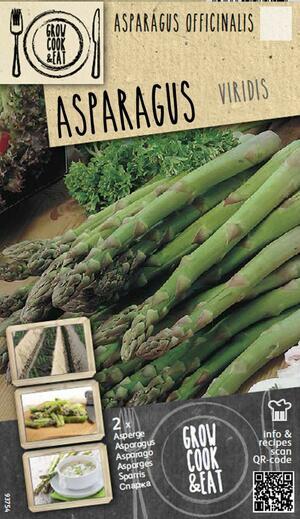Bulbi di Asparagus Viridis confezione 2pz