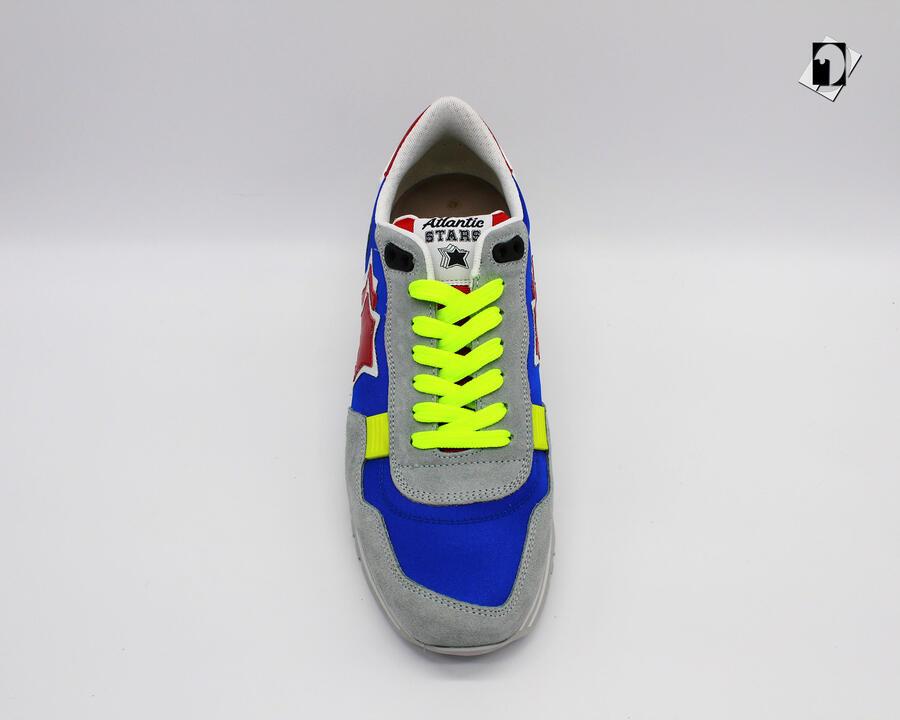 Sneakers Atlantic Stars Pegasus Bar da Uomo Fluo J19BLUETTE