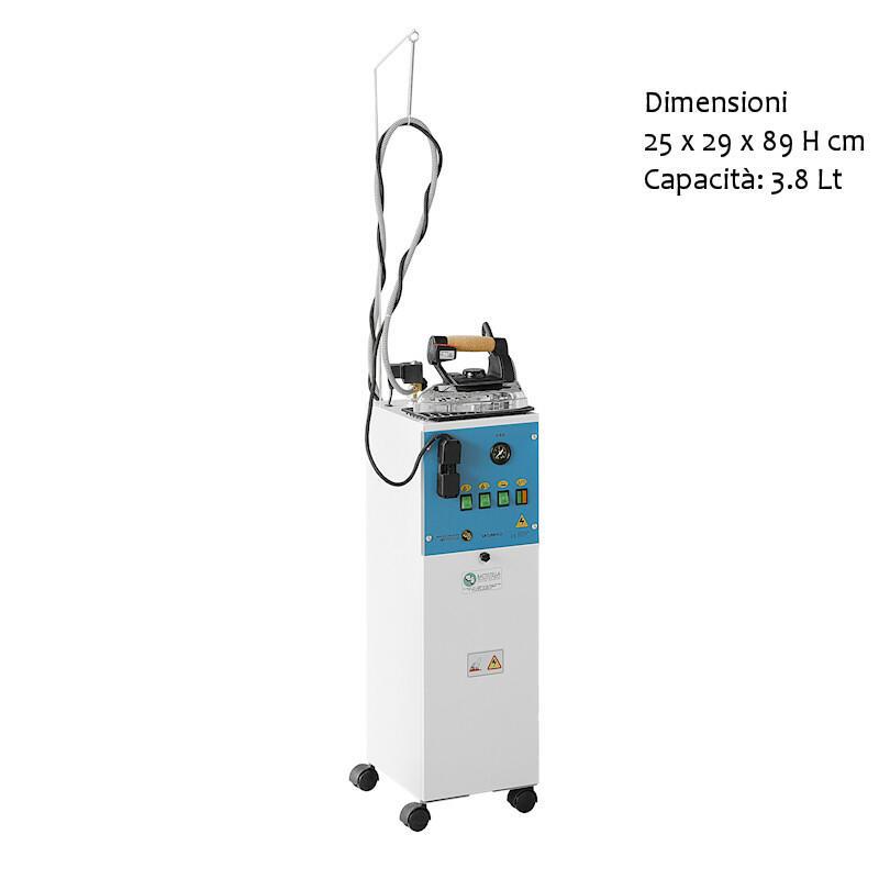 Generatore di vapore SATURNINO con ferro da stiro valvola regolabile doppia valvola di sicurezza termostato battistella