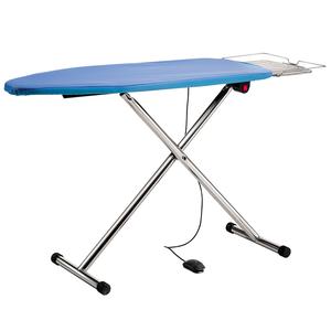 Tavolo da stiro pieghevole T220 P aspirante e riscaldato regolabile in altezza Battistella