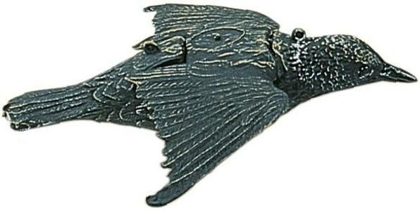 Storno in volo in materiale termoplastico - confezione 6 pezzi
