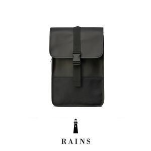 Rains Buckle Backpack Mini - Black