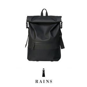 Rains Buckle Rolltop - Black
