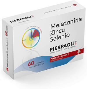 Melatonina Zinco - Selenio Pierpaoli 60cpr ►PROMO 60+28 OMAGGIO◄