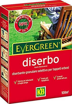 Concime Diserbo Evergreen 1 Kg
