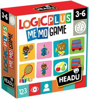 LOGIC PLUS MEMO GAME HEADU