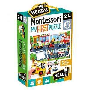 MONTESSORI MY FIRST PUZZLE THE CITY HEADU