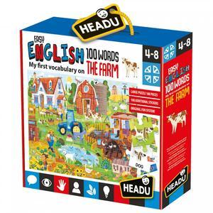 EASY ENGLISH 100 WORDS THE FARM HEADU