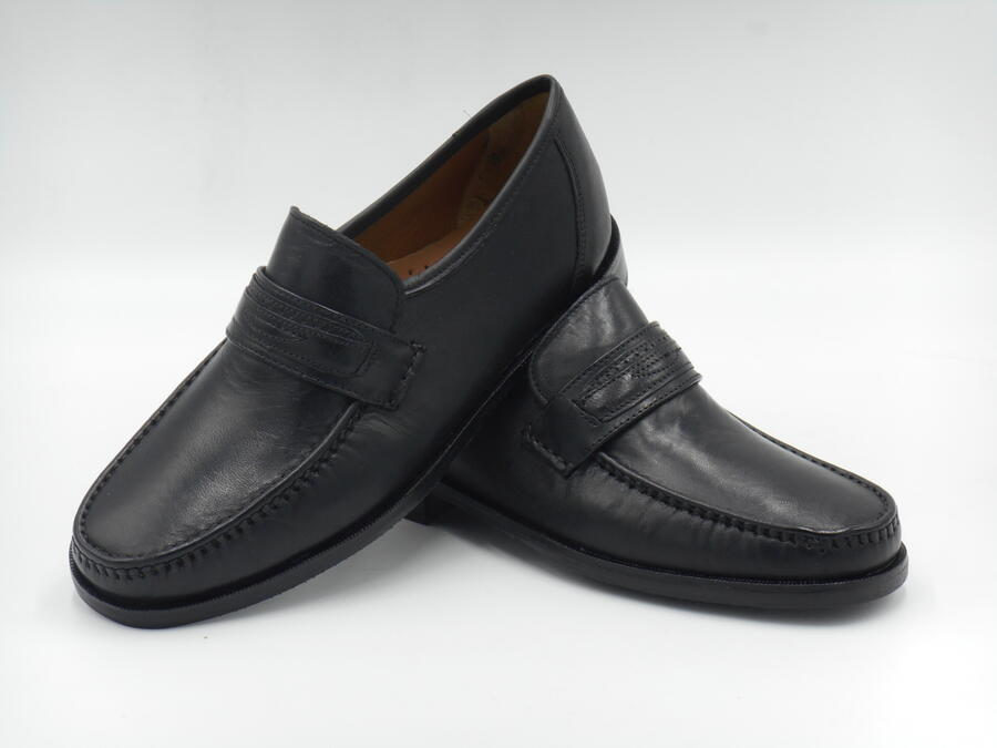 Scarpa classica pelle mocassino uomo Soft Walking