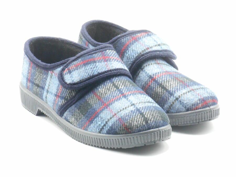 Pantofole uomo scozzesi Uomo Shoes B124