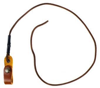 Balza per colombacci volantini in cuoio chiusura con bottone automatico