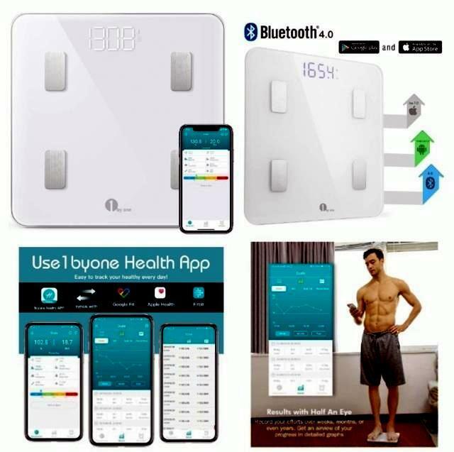 Bilancia Pesa Persona Digitale Bluetooth