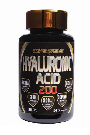 HYALURONIC ACID 200 - Acido ialuronico 200mg con vitamina C 500mg - 30 capsule