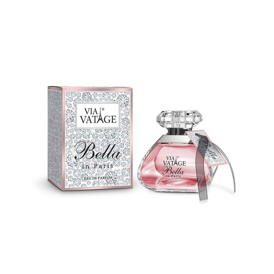 "VIA VATAGE ""BELLA IN PARIS"" EAU DE PARFUM PROFUMO DONNA 100 ML"
