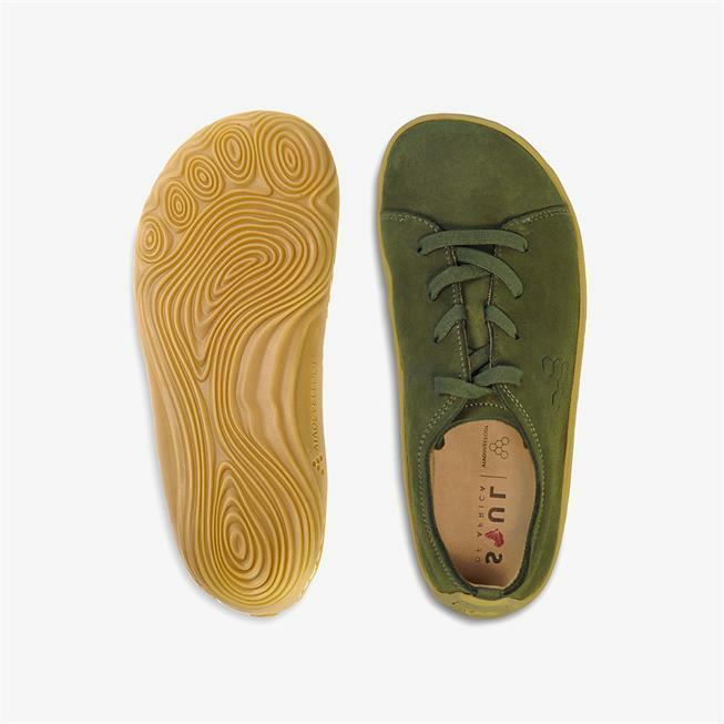 Vivobarefoot Addis Donna Botanical Green