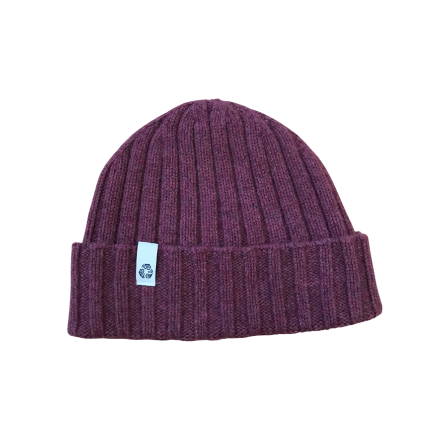 Cappello in cashmere pink