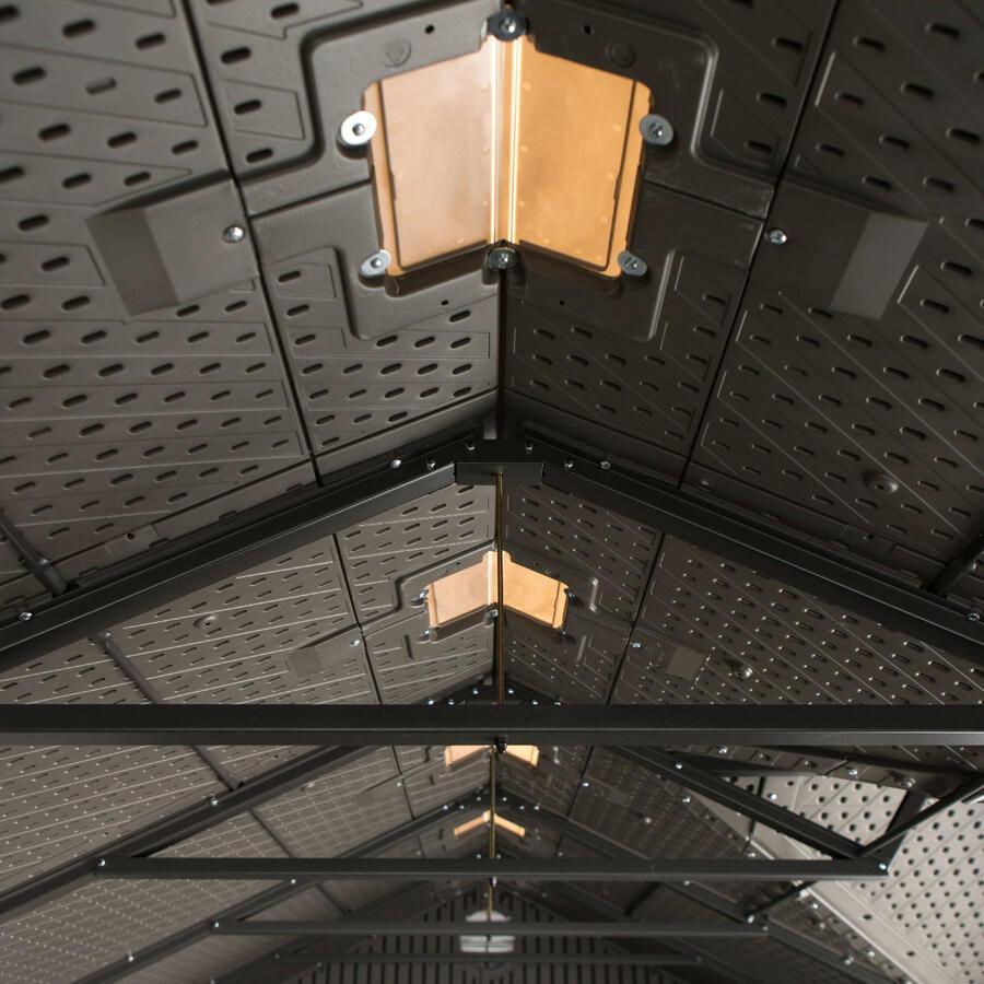 Casetta in polietilene HDPE mod. UTAH - cm 452x239x244 h - LIFETIME