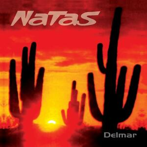 LOS NATAS    - DELMAR - LP  COLORED SPLATTER ORANGE / BLACK LIMITED EDITION (Argonauta Records)