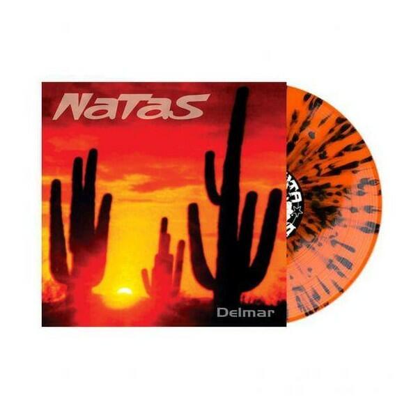 LOS NATAS    - DELMAR LP (COLORED SPLATTER ORANGE / BLACK LIMITED EDITION )