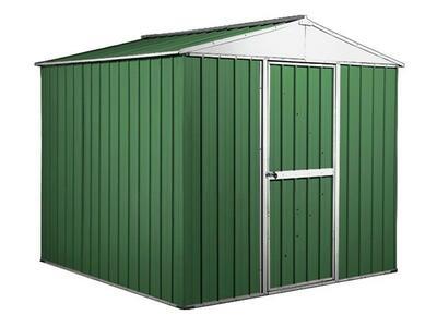 BOX IN ACCIAO / CAPANNO PER GLI ATTREZZI CM 275 x 175 x 215 H - COLORE VERDE