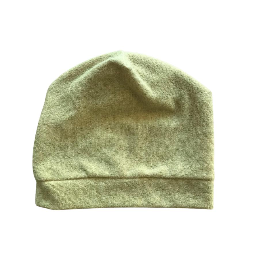 Berretto lana ocra