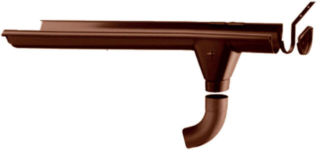 Grondaie in lamiera preverniciata per casette in legno con falde fino da cm.220 a cm.259