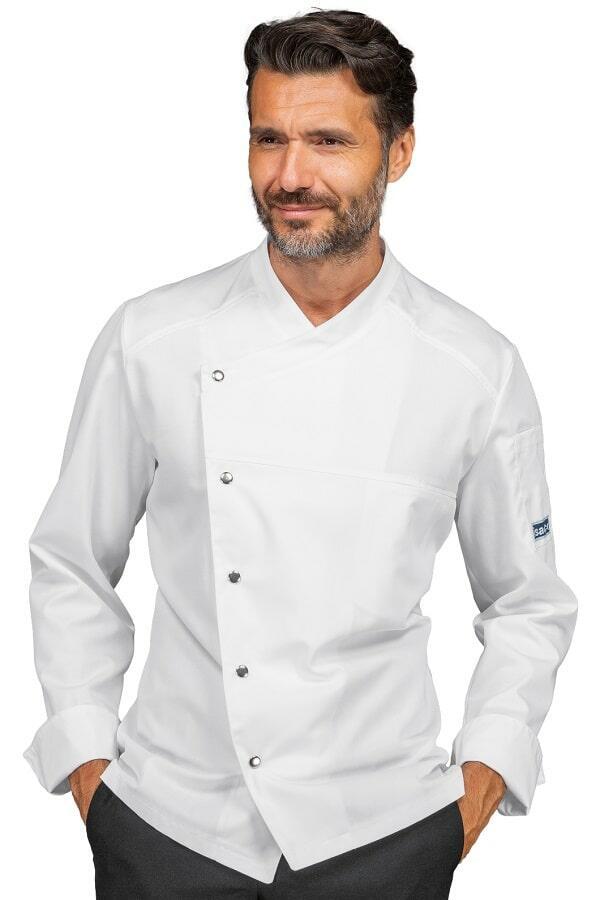 Giacca Cuoco Erickson polycotone Bianca
