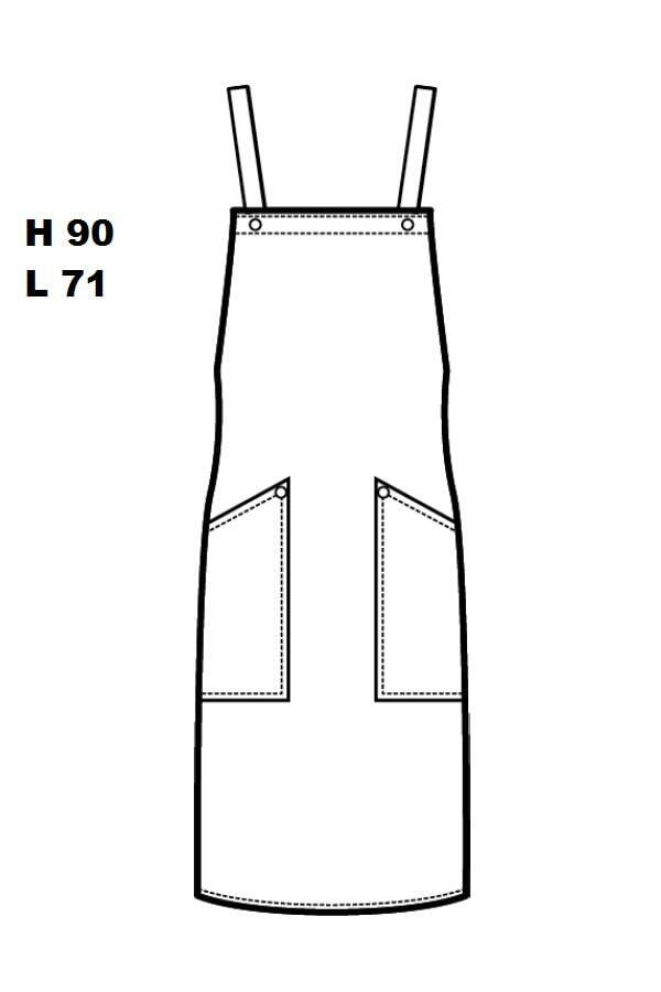 Grembiule Watson Jeans