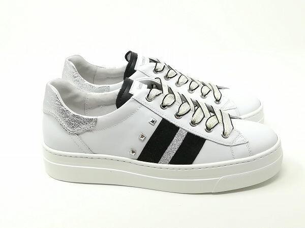 Sneaker Rock Bianco - NeroGiardini