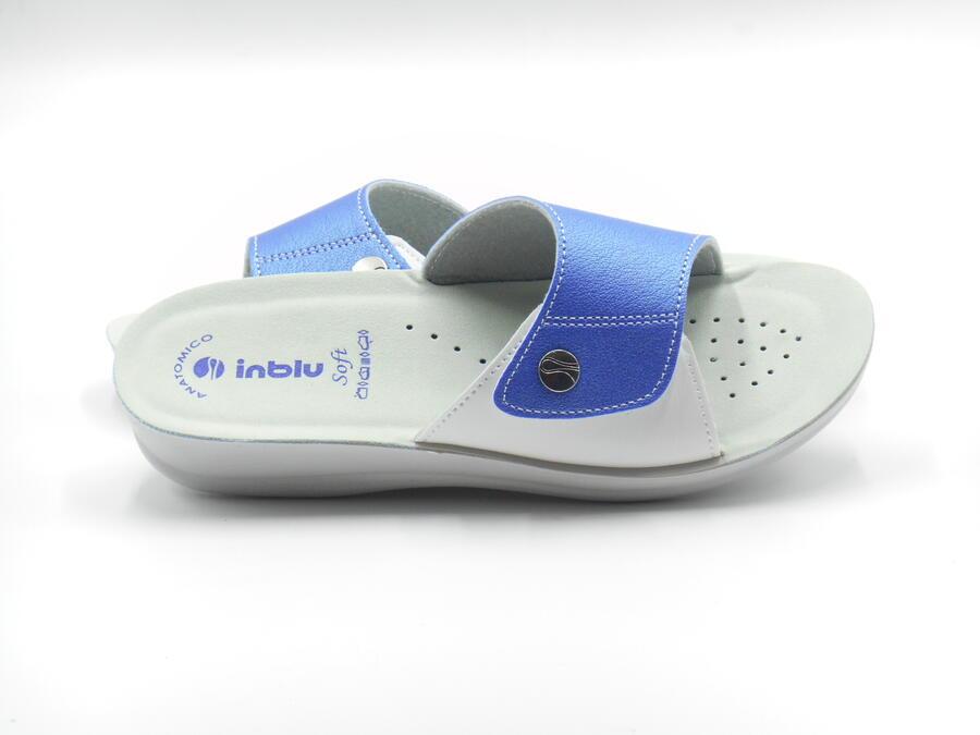 Inblu VR000045 ciabatta confort chiusura a strappo jans