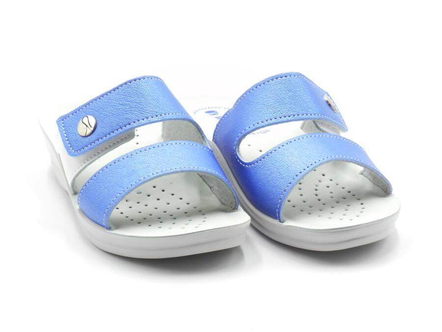 In Blu VR000047 ciabatte donna regolabili color jeans