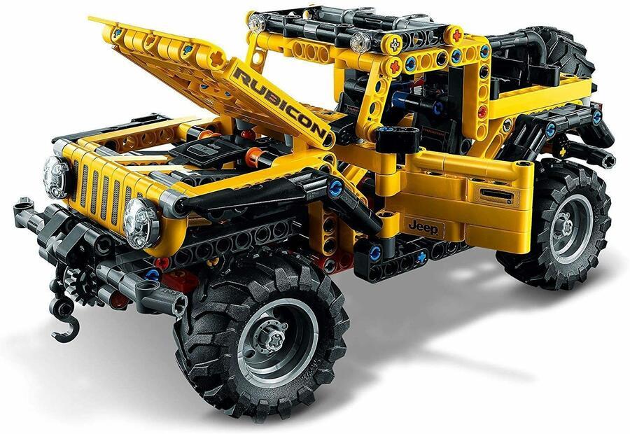 Jeep Wrangler - Lego Technic 42122 - 9+ anni