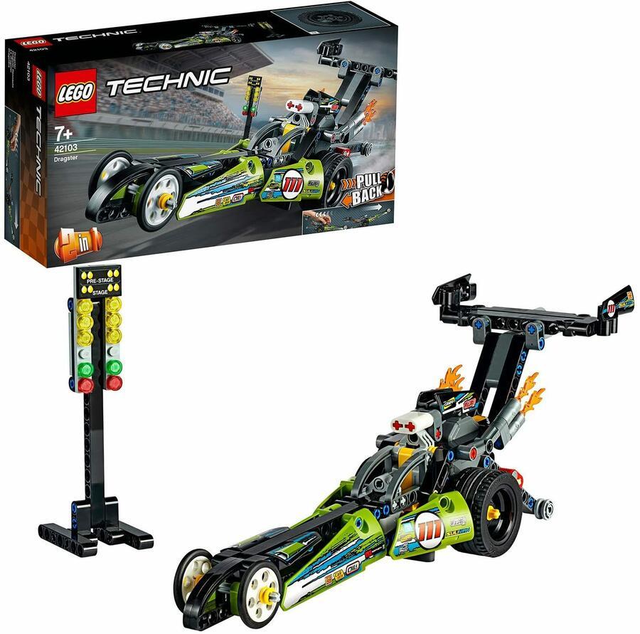 Dragster - Lego Technic 42103 - 7+ anni