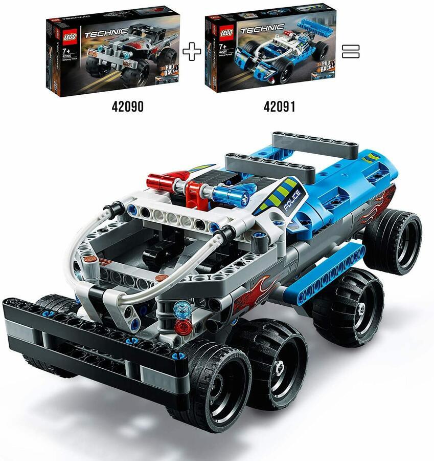 Veicolo di inseguimento della polizia - Lego Technic 42091 - 7+ anni