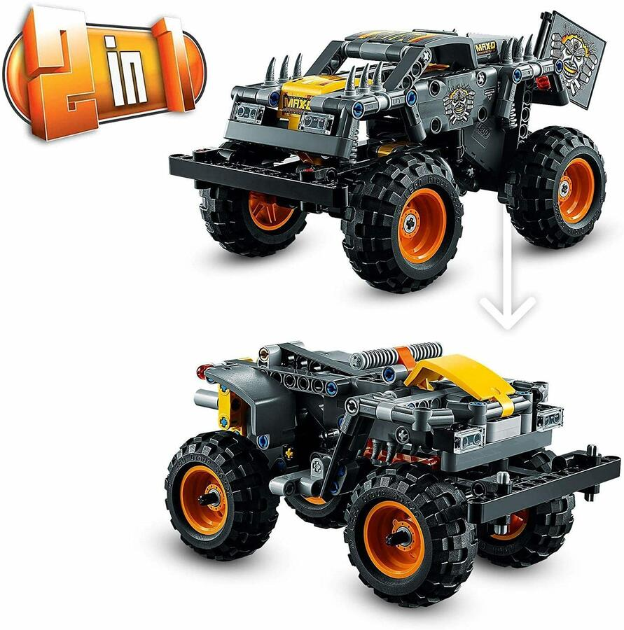 Monster Jam Max-D - Lego Technic 42119 - 7+ anni